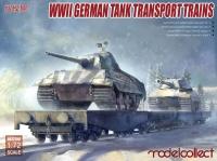 Modelcollect AS72113-1//72 WWII German Schwerer Plattformwagen Type ssyms 80