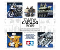 Tamiya Catalogue 2019 - German /English / French / Spanisch