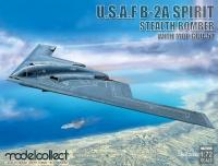 USAF B-2A Spirit - Stealth Bomber with MOP GBU-57 - 1:72
