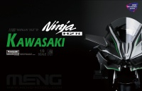 Kawasaki Ninja H2R - Pre colored Edition - 1:9