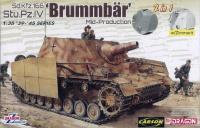 Brummbär - Sturmpanzer IV - Sd.kfz. 166 - Mid Production - 2in1 - 1/35