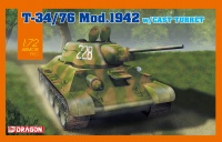 T-34/76 - Model 1942 with Cast Turret - 1:72