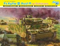 Panzerkampfwagen III Ausf. M - Kursk with Schürzen - 1/35