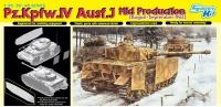 Panzerkampfwagen IV Ausf. J - Mid Production - Augsut - September 1944 - 1:35