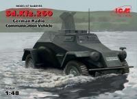 Sd.Kfz. 260 - kleiner Panzerfunkwagen - 1:48