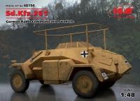 Sd.Kfz. 261 - kleiner Panzerfunkwagen - 1:48