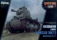 Panzer 38(t) - German Light Tank - World War Toons - 1/Egg