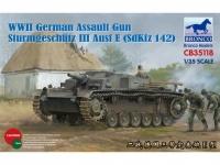 Sturmgeschütz III E - Sd.Kfz.142 - 1:35