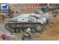 StuG III Ausf. C / D - Sd.Kfz. 142 - 2in1 - 1/35