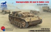 Sturmgeschütz III Ausf. D - Sd.Kfz. 142 - North Africa - 1/35