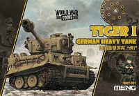 Tiger I  - German Heavy Tank - World War Toons - 1/Egg