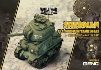 M4A1 Sherman - US Medium Tank - World War Toons - 1/Egg