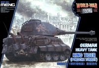 King Tiger Porsche Turret - German Heavy Tank - World War Toons - 1:Egg