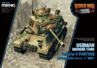 Panther  - German Medium Tank - World War Toons - 1/Egg