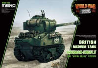 Sherman Firefly - British Medium Tank - World War Toons - 1/Egg