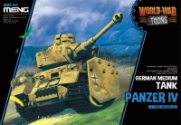 Panzer IV - German Medium Tank - World War Toons - 1/Egg