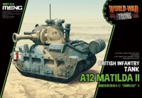 A12 Matilda - British Infantry Tank - World War Toons - 1:Egg