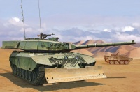 Leopard C2 Mexas with Dozer Blade - Canadian Main Battle Tank - 1:35