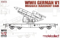 V1 Missile Railway Car - 1:72