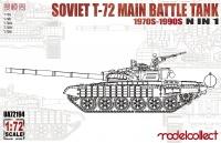 T-72 - Soviet Main Battle Tank - 1970 - 1990 in 1 - 1:72