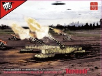 Selbstfahrlafette 28cm K3 Auf Lastenträger E-75 - Hermodr - Fist of War - 1:72