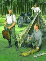 German Infantry Bivouac - Deutsche Infanterie Biwak - Figuren Set - 1:35