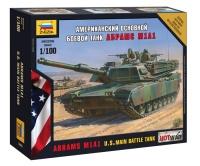M1A1 Abrams - US Main Battle Tank - 1/100