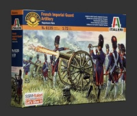 French Imperial Guard Artillery - Waterloo - 1:72