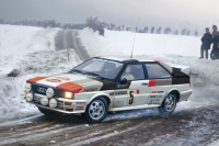 Audi Quattro Rally - 1:24