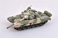 Soviet Army Main Battle Tank T-72B - 1980s - Finished Model - 1/72