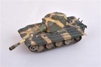Deutscher Panzerkampfwagen E-75 mit 128mm Geschütz 1946 - Fertigmodell - 1:72
