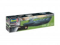 Deutsches U-Boot Typ VII C/41 - Platinum Edition - 1:72