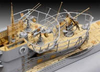 Deutsches U-Boot Typ VII C/41 - Platinum Edition - 1:72