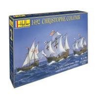 Christopher Columbus 1492 - Nina - Santa Maria - Pinta - Model Set - 1/75