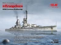 Kronprinz - WWI German Battleship - 1/700