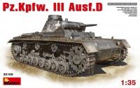 Panzerkampfwagen III Ausf. D - 1:35
