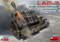 LAP-7 Soviet Rocket Launcher - 1:35