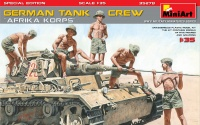 German Tank Crew - Afrika Korps - Special Edition - 1:35