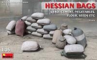Hessian Bags / Sandsäcke / Leinensäcke - 1:35