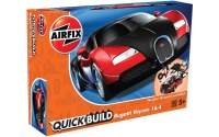 Quick Build - Bugatti Veyron - Black & Red