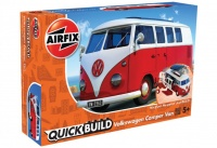 Quick Build - Volkswagen Camper Van - Red