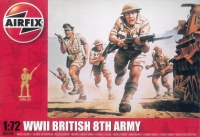 British 8th Army Infantry - 1:72