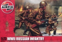 Russian Infantry WWII - 1/72