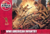 US / American Infantry WWI - 1/72