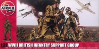 British Infantry Support Group WWII - 1:32