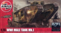 Male Tank Mk. I - WWI - 1/76