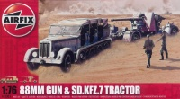 88mm Gun & Sd.Kfz. 7 Tractor - 1/76
