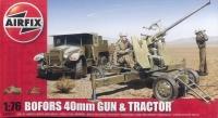 Bofors 40mm Gun & Tractor - 1:76