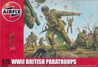Britsh Paratroops WWII - 1/72