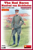 The Red Baron - Manfred von Richthofen - WWI Flying Ace - 1:16